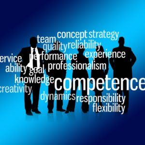 team, businessmen, competence